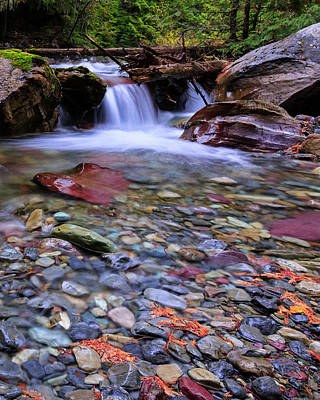 Photograph - Colorful Rocks by Jack Bell