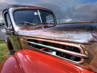 Photograph - Colorful Rust - 1942 Ford by Gill Billington