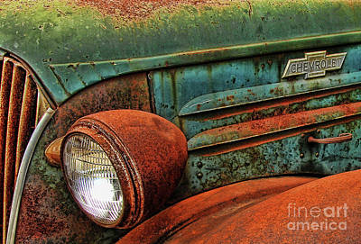 Photograph - Colorful Rust by Clare VanderVeen