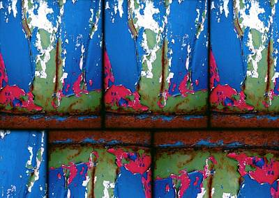 Digital Art - Colorful Rust by Patricia Strand