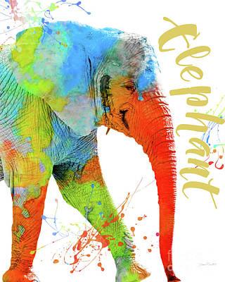 Colorful Safari Animals C Original