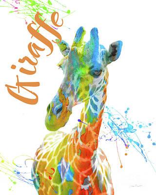 Colorful Safari Animals D Original