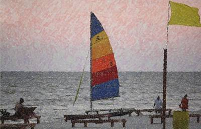 Photograph - Colorful Sails by Donna G  Smith