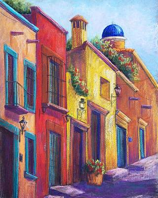 Colorful San Miguel Art Print