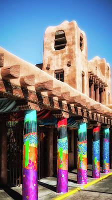 Photograph - Colorful Santa Fe by James Barber