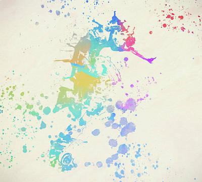 Colorful Seahorse Art Print