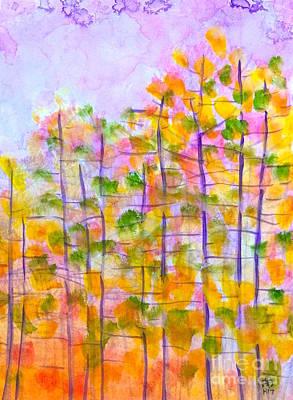 Painting - Colorful Season by Wonju Hulse