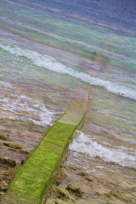 Photograph - Colorful Seawall by James BO Insogna