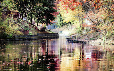 Photograph - Colorful Serenity by IK Hadinger