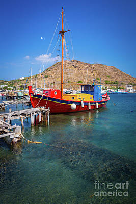 Photograph - Colorful Ship by Inge Johnsson