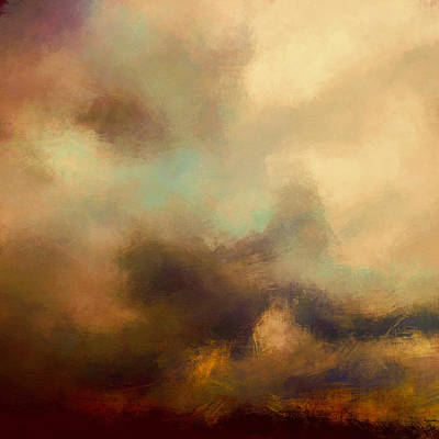 Eternity Digital Art - Colorful Sky by Lonnie Christopher