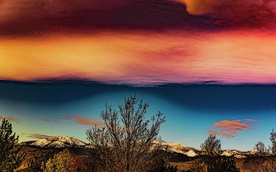 Photograph - Colorful Sky by Nancy Marie Ricketts
