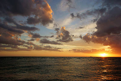 Photograph - Colorful Sky On Lover's Key by Daniel Woodrum