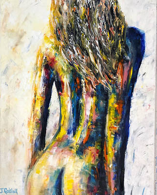 Painting - Colorful Soul by Jennifer Godshalk