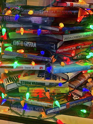 Photograph - Colorful Stack Of Books by Denise Mazzocco
