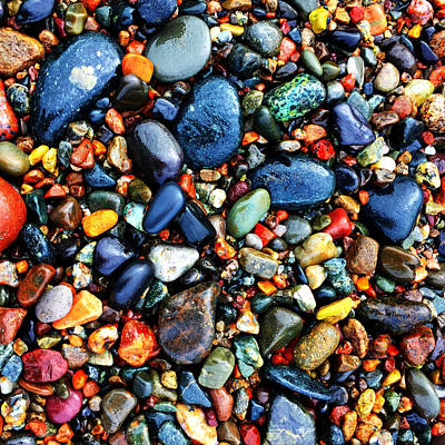 Photograph - Colorful Stones I by Cristina Stefan