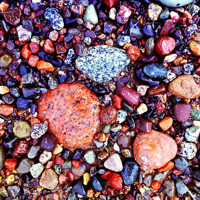 Photograph - Colorful Stones II by Cristina Stefan
