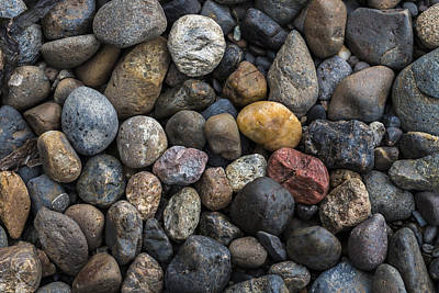 Photograph - Colorful Stones by Robert Potts