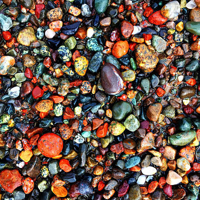 Photograph - Colorful Stones Vi by Cristina Stefan