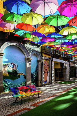 Photograph - Colorful Street II by Marco Oliveira