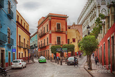 Photograph - Colorful Street In Guanajuato, Mexico by Tatiana Travelways