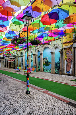 Photograph - Colorful Street by Marco Oliveira