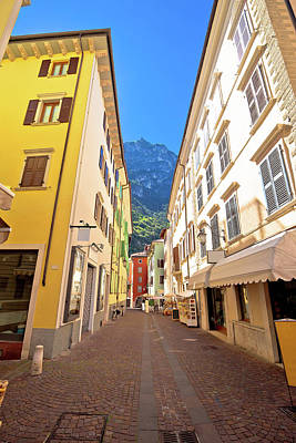 Photograph - Colorful Street Of Riva Del Garda by Brch Photography