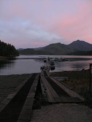 Photograph - Colorful Sunset by Nootka Sound