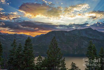 Photograph - Colorful Sunset On Angora Ridge by Mitch Shindelbower