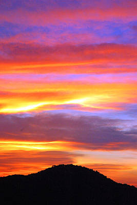 Photograph - Colorful Sunset by Robert Anschutz