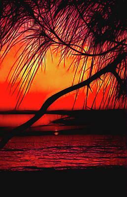 Photograph - Colorful Sunset by Rosalie Scanlon