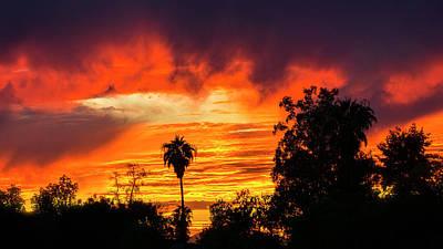 Photograph - Colorful Sunset Skies  by Saija Lehtonen