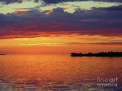 Photograph - Colorful Sunset Sky by D Hackett