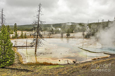 Photograph - Colorful Thermal Pool by Sue Smith