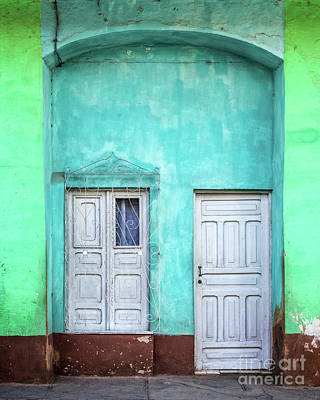 Trinidad House Photograph - Colorful Trinidad by Delphimages Photo Creations
