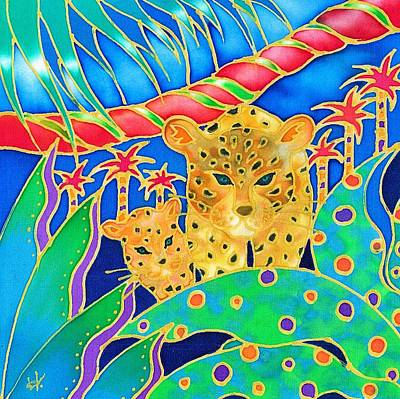 Painting - Colorful Tropics 3 by Hisayo Ohta