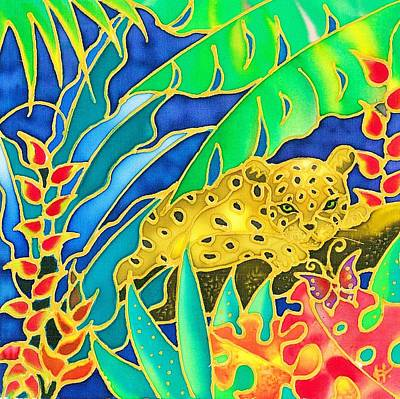 Painting - Colorful Tropics 4 by Hisayo Ohta