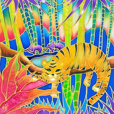 Painting - Colorful Tropics 9 by Hisayo Ohta