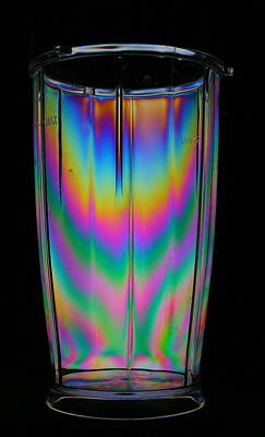 Colorful Tumbler Art Print by Donald Tusa