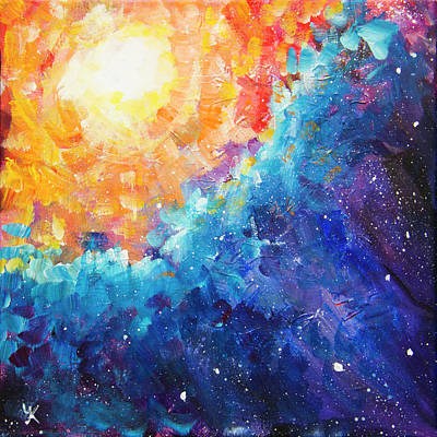 Painting - Colorful Universe by Yulia Kazansky