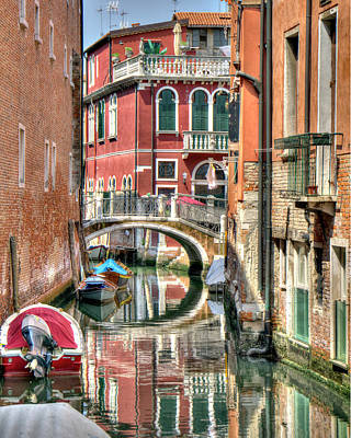 Photograph - Colorful Venice  by Alan Toepfer