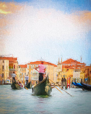 Photograph - Colorful Venice Transportation by Kathleen Scanlan