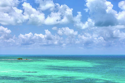 Photograph - Colorful View From Bahia Honda Key  by John M Bailey