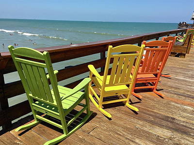 Photograph - Colorful View Of The Ocean by Denise Mazzocco
