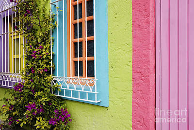 Colorful Walls Art Print