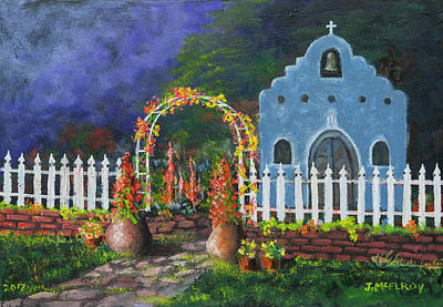 Painting - Colorful Welcome by Jerry McElroy