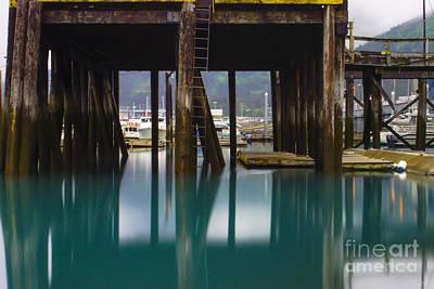 Photograph - Colorful Whittier Pier by Jennifer White