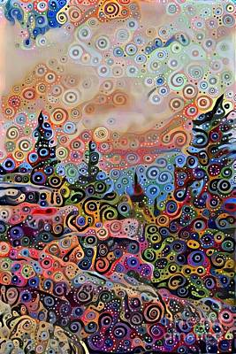 Great Outdoors Mixed Media - Colorful Wilderness  by Douglas Sacha