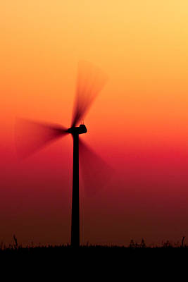 Eolienne Photograph - Colorful Wind Power 1 by Andy Fung