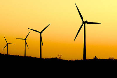Eolienne Photograph - Colorful Wind Power 3 by Andy Fung